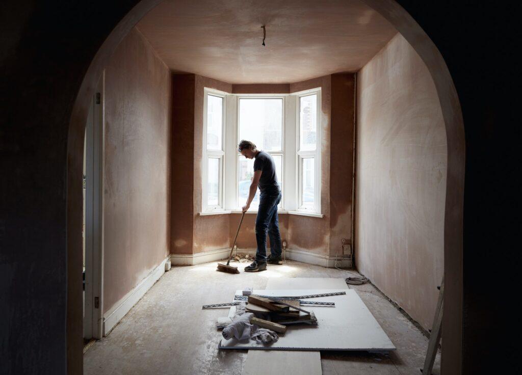 rénovation maison aux états unis